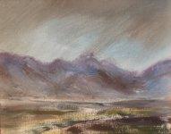 View across the moor