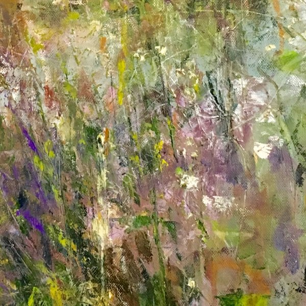 A DETAIL TAKEN FROM A WORK TITLED ' MIDSUMMER MAGIC'