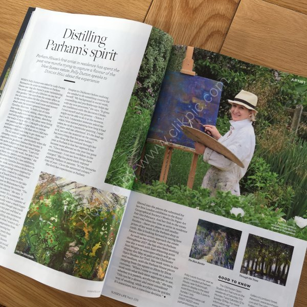 SUSSEX LIFE INTERVIEW ABOUT PARHAM MARCH 2018