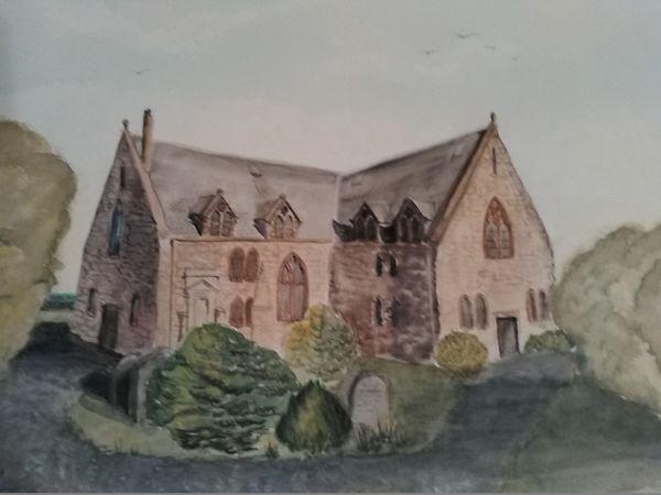 Auld kirk of Ayr by Ann McGeachie