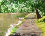 Canal scene at Watford