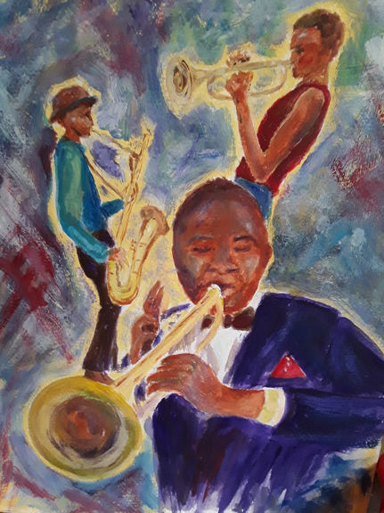 Jazz  Musicians by Pat Lawrence