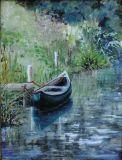 Canoe on Wey and Arun canal