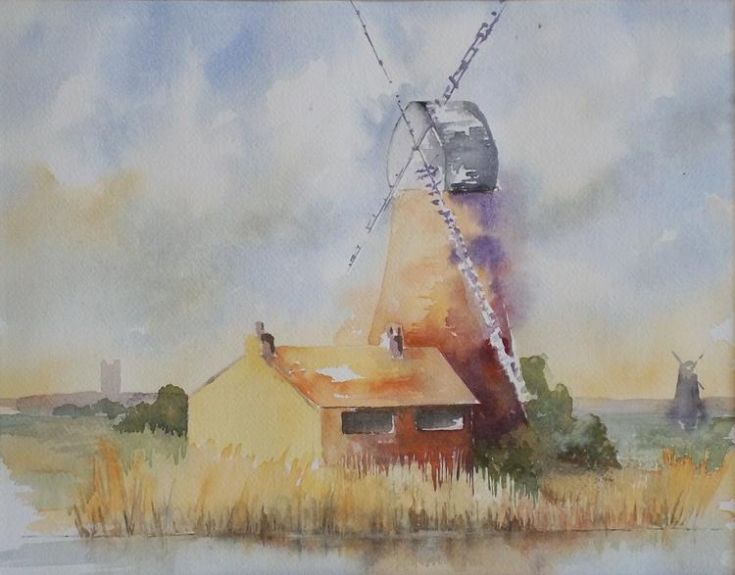 Drainage Mill Norfolk Broads