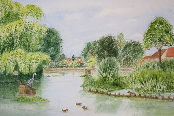 Storrington Memorial Pond by Judy Palmer