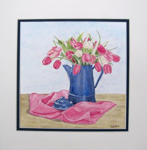 Tulips by Judy Palmer