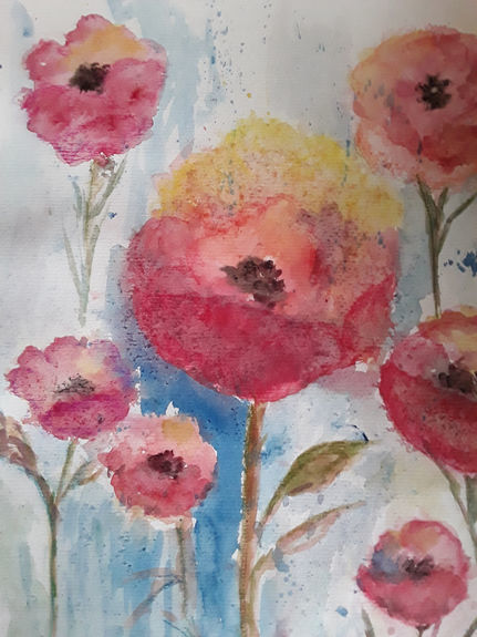 Poppies by Pat Lawrence
