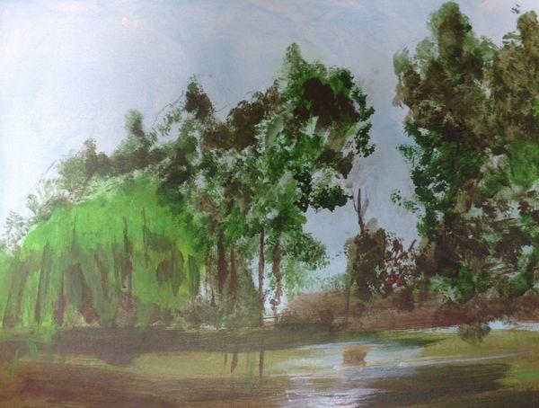 Storrington Pond by Dave Atkins