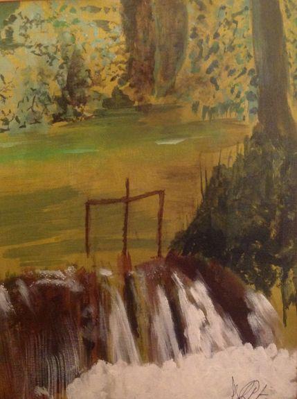 Waterfall-at-Giverny by Dave Atkins
