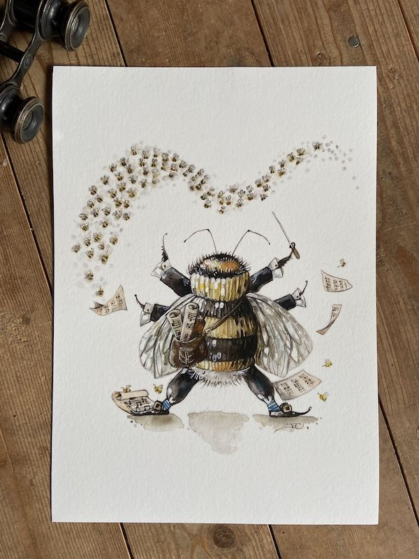 The Bee Conductor