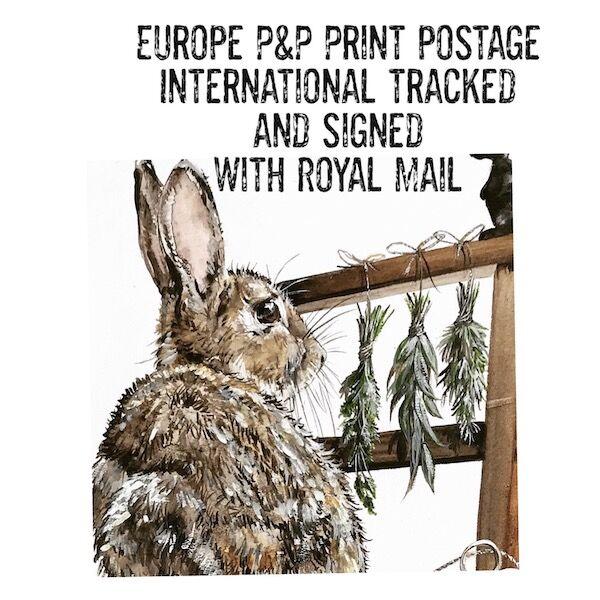 Europe Print Postage