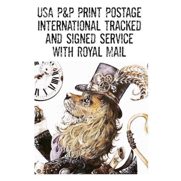 USA/Canada Print Postage
