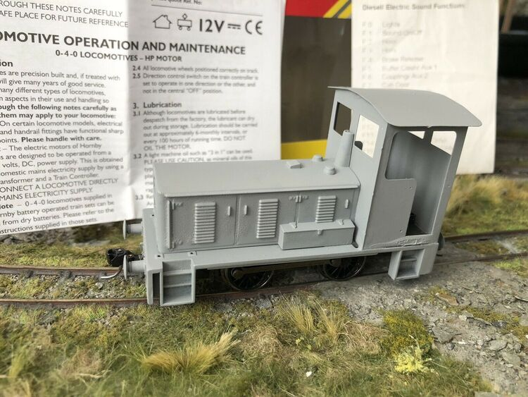 On-30 0-16.5 7mm Narrow O Gauge / Scale - DCC Sound / Stay Alive - Diesel Shunter