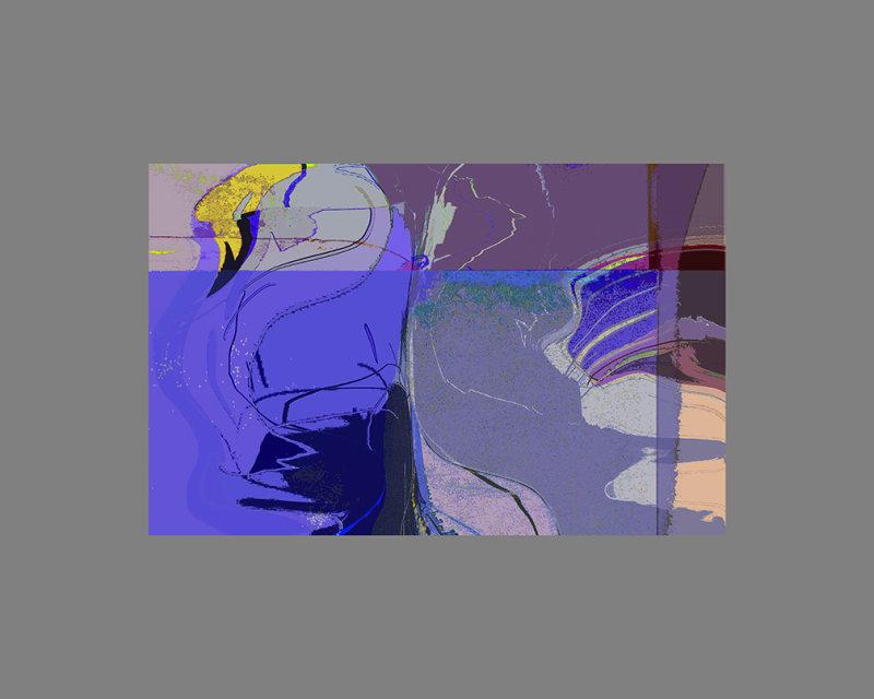 Blue Waveform