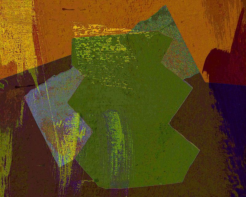 Cutout Green & Brown