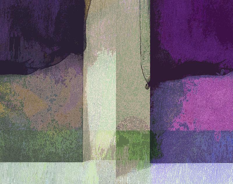 Black Chiffon Curtains, Pink &Green.
