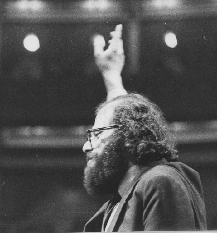 Allen Ginsberg at The Albert Hall