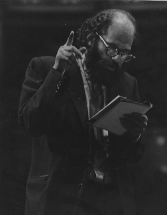 Allen Ginsberg at The Albert Hall