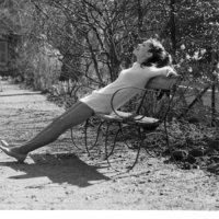 Model in park