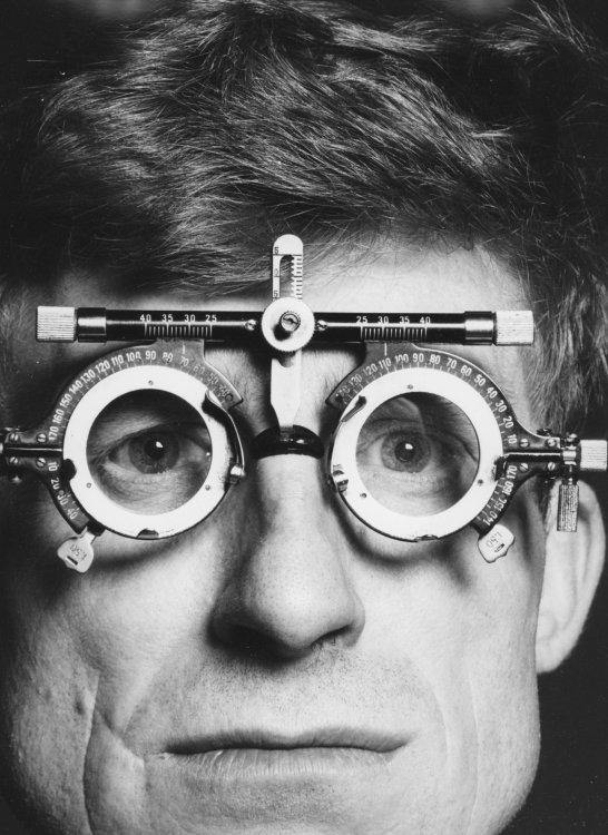 The optician