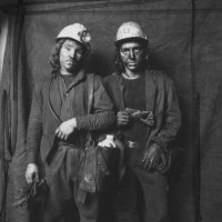 Two Miners- Wales 1975
