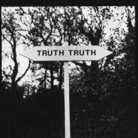 Truth lies in all directions- corner of Lordship Lane and Sth Circular Rd, Dulwich