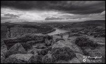 Bamford Edge Overlooking Ladybower
