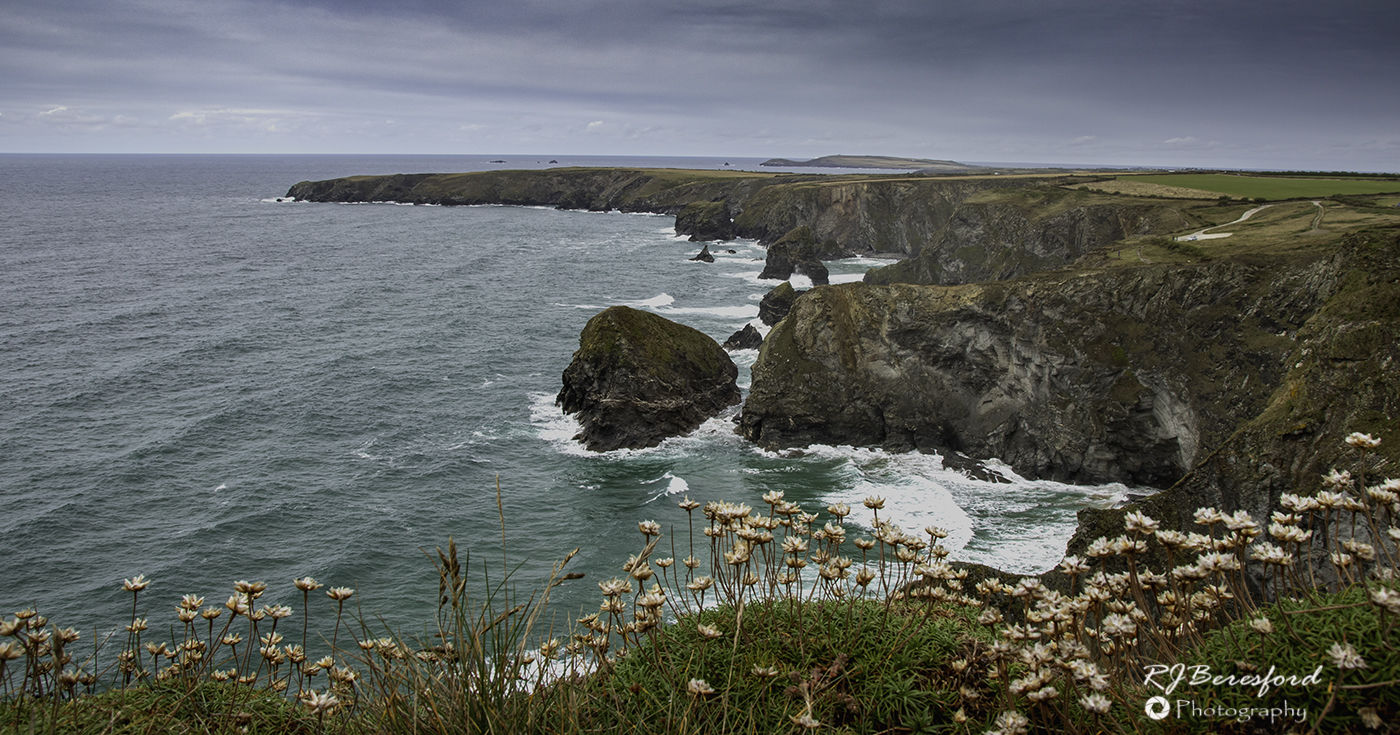 Bedruthan Steps After the Storm