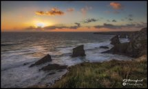 Bedruthan Sunset