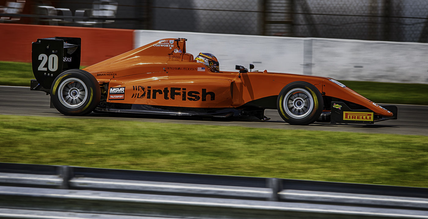Ben Pedersen British Formula 3 Championship
