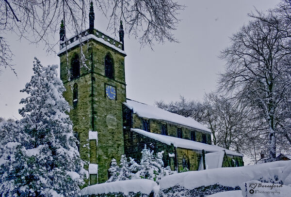 St Michael and All Angels in Winter