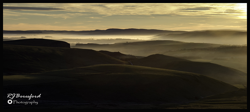 Evening Mist in the Valleys
