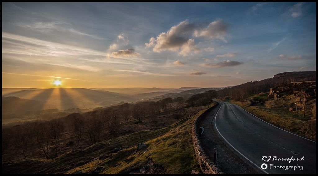Hathersage Sunset