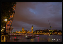 London Eye & Houses of Parliament