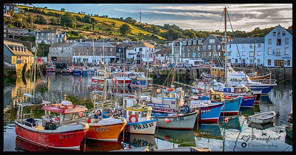 Mevagissey Harbour HDR