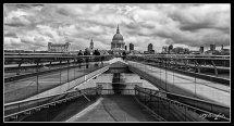 St Pauls Cathedral & Millennium Bridge