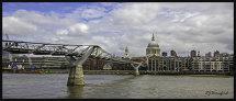 St Pauls & the Millenium Bridge