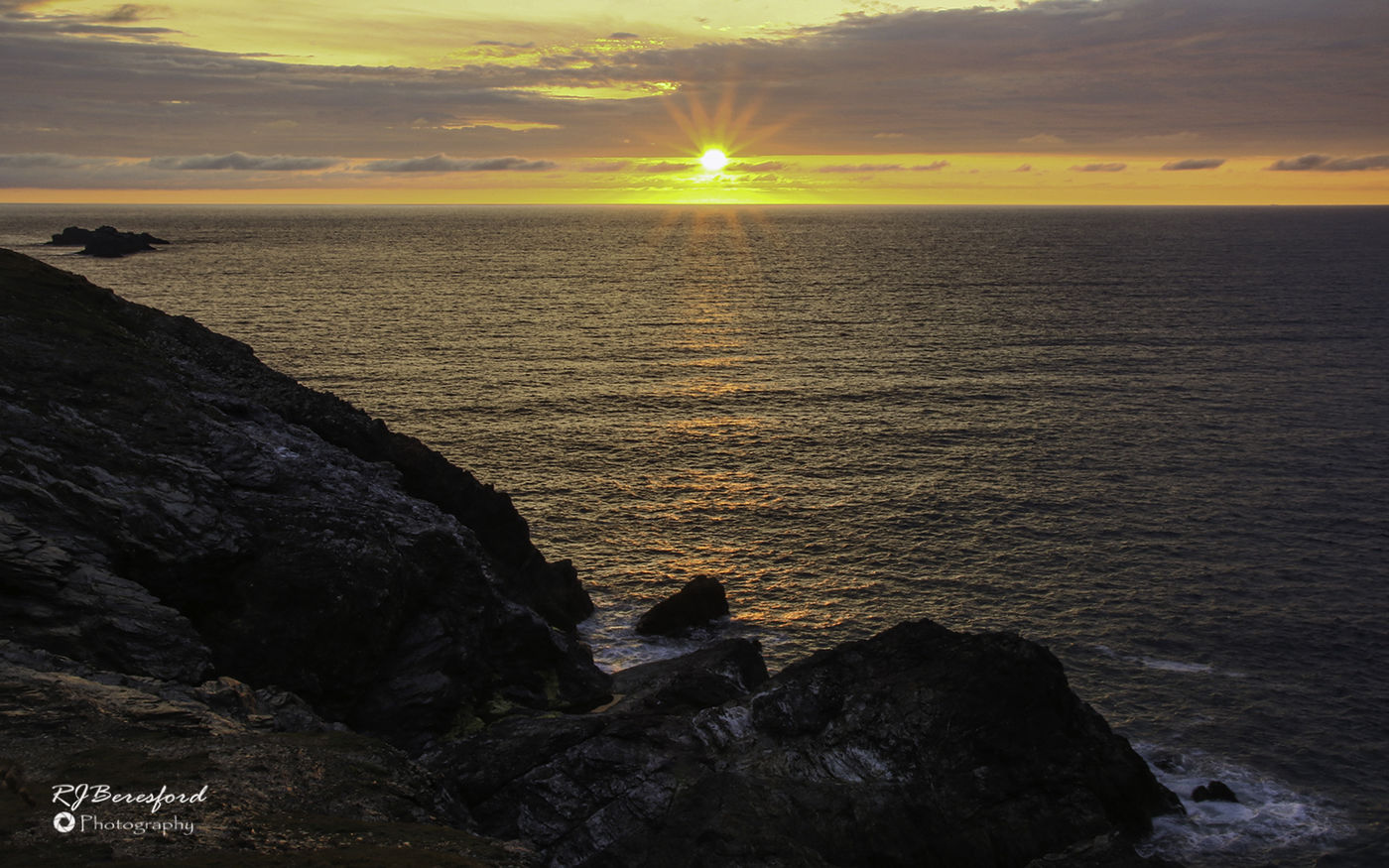 Trevose Head Sunset