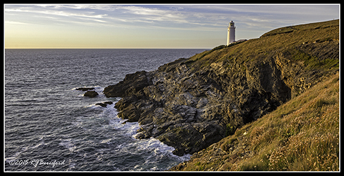 Trevose Head at Sunset
