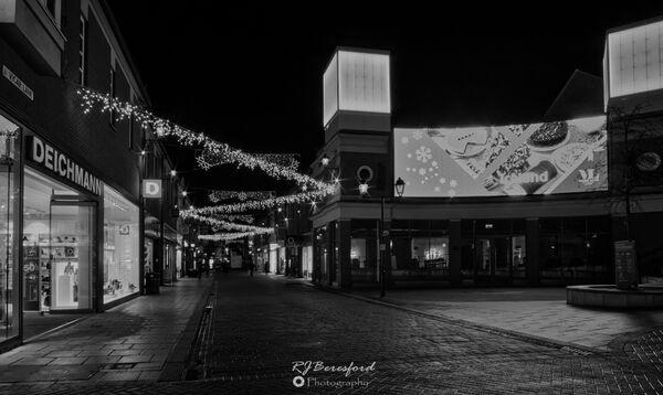 Vicar Lane Christmas Lights