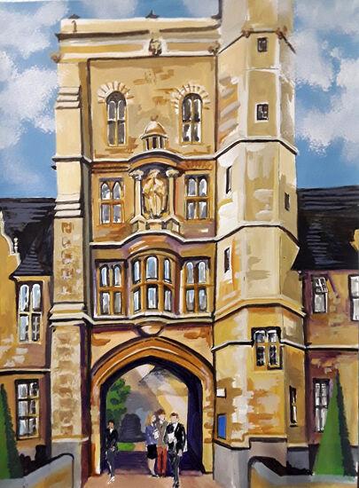Uppingham School Tower