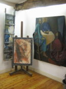 Painting in the Gallery