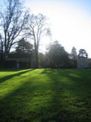 The Hall Lawn in Winter