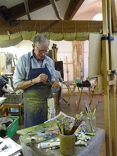 Painter in the Stable Gallery