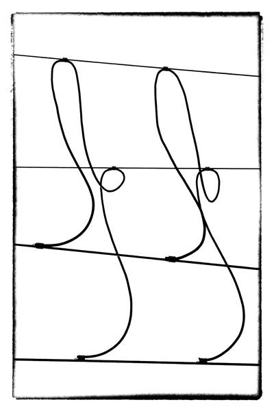 OHNE TITEL [STROMWEGE #1-2]