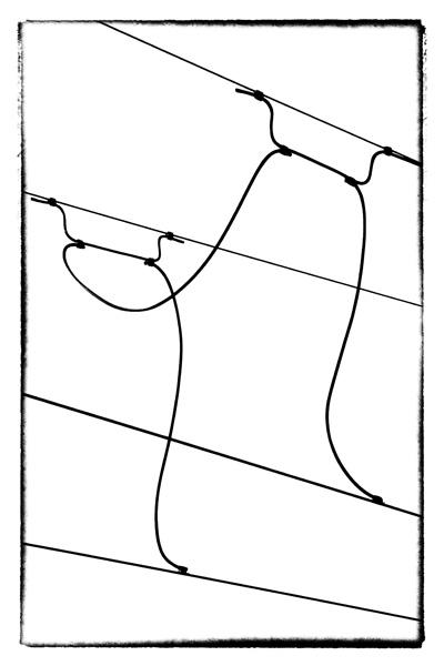 OHNE TITEL [STROMWEGE #1-4]