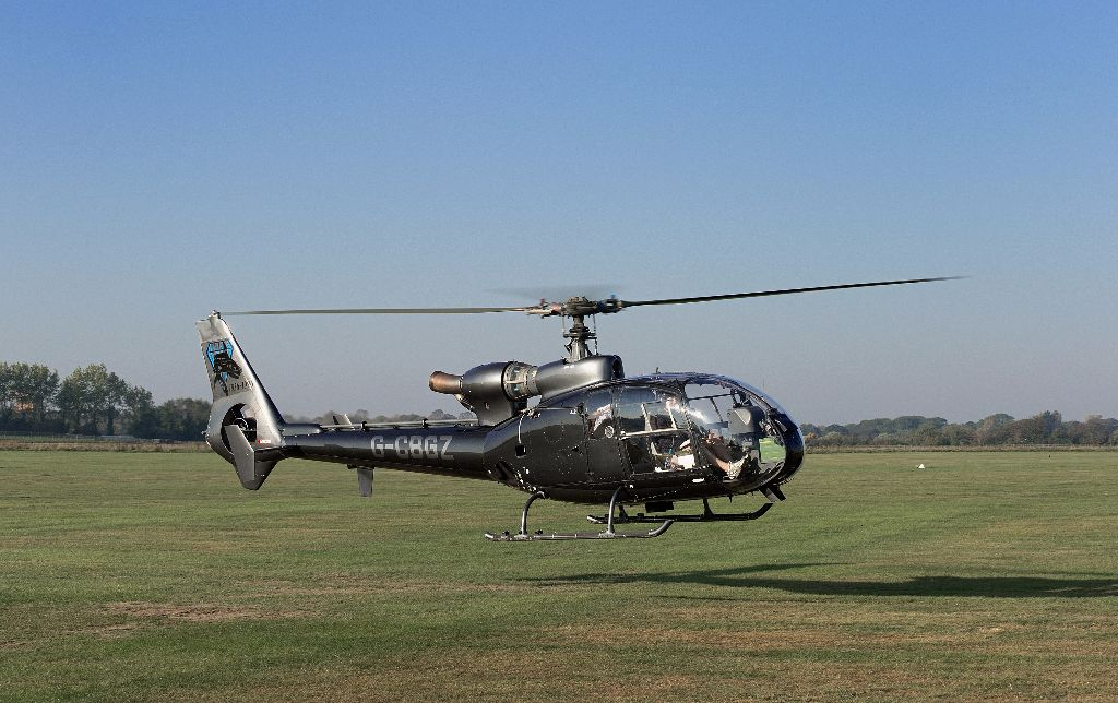G-CBGZ SA-341C Gazelle HT2