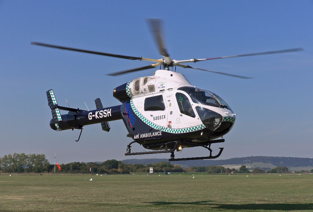 G-KSSH Air Ambulance