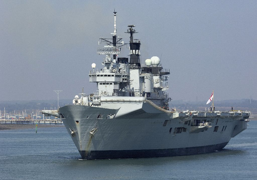 HMS Illustrious 1