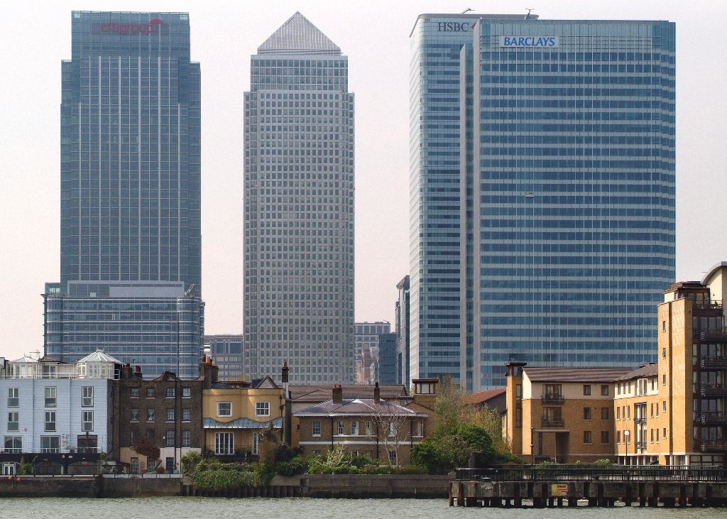 Living in the shadow of Canary Wharf